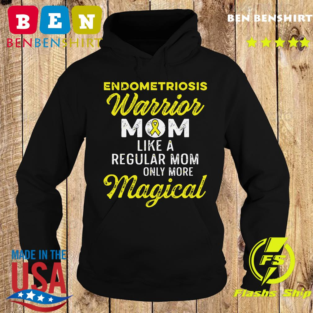 Endometriosis Endo Survivor Mom Warrior Shirt Hoodie