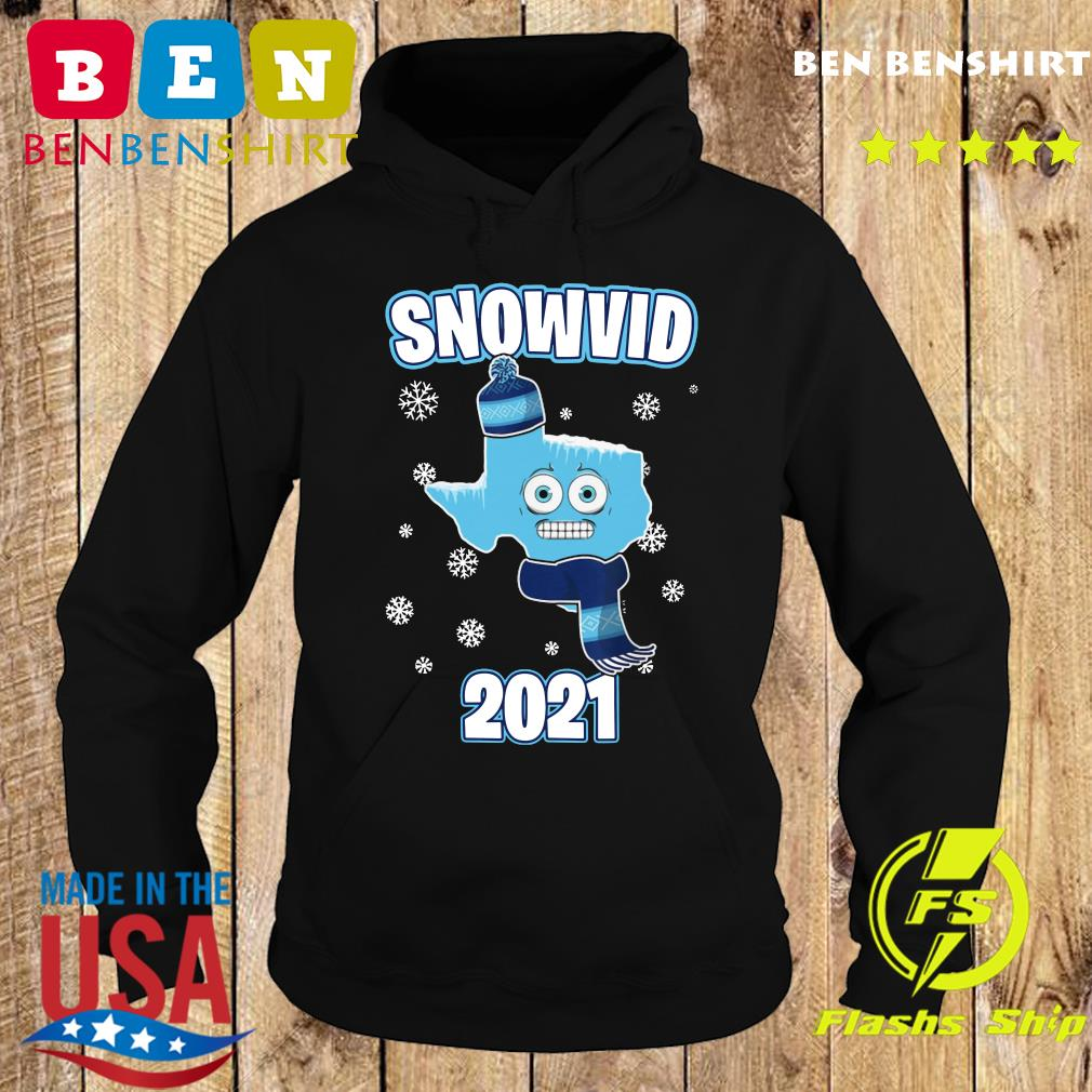 I Survived Snovid-21 2021 Texas Strong Funny Gift Snow Snowvid Shirt Hoodie