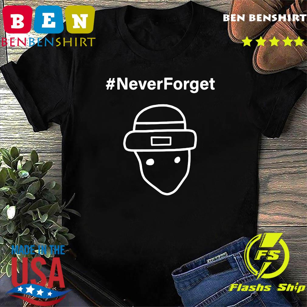 Never Forget Logo Tee Shirt