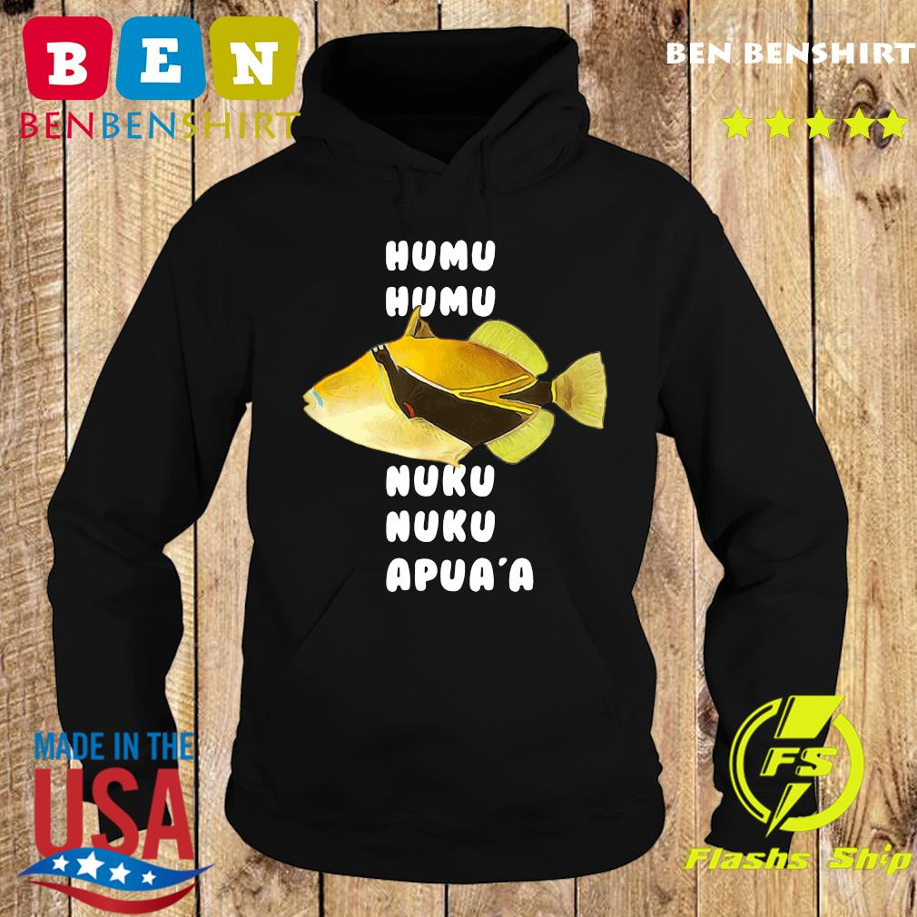 Official Humuhumunukunukuapua'a Hawaiian State Fish Shirt Hoodie