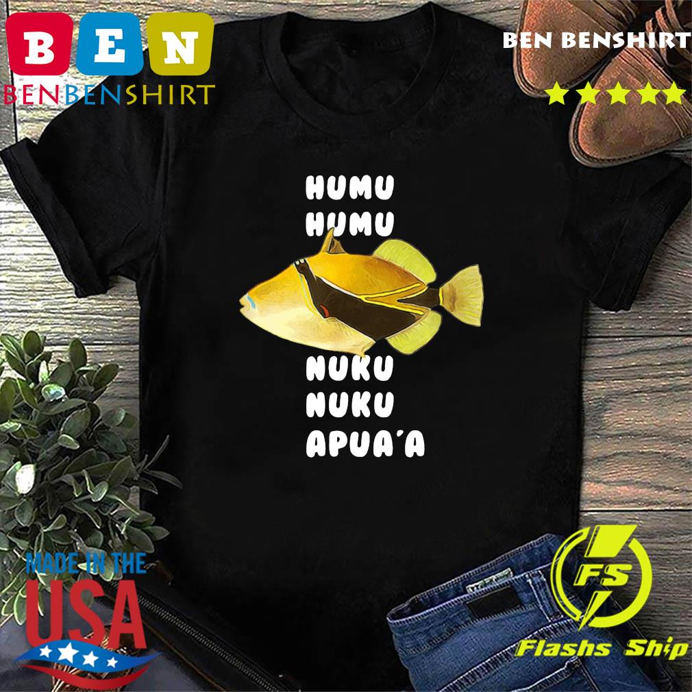 Official Humuhumunukunukuapua'a Hawaiian State Fish Shirt