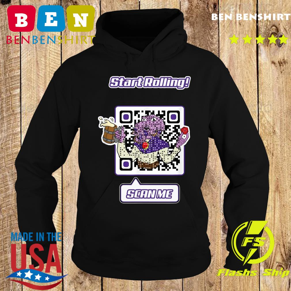 Start Rolling Mindflayed Mondays Scan Me Shirt Hoodie