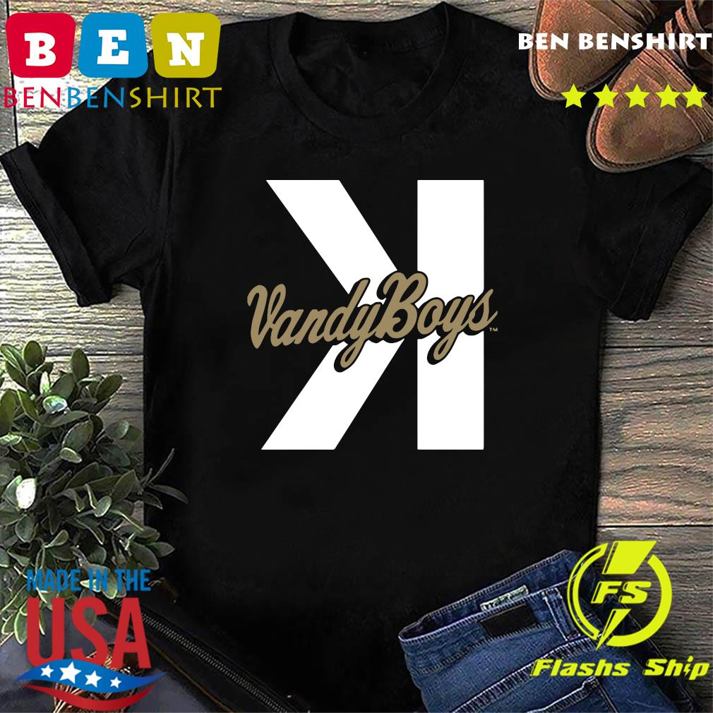Vanderbilt Commodores Vandy Boys Backwards K shirt