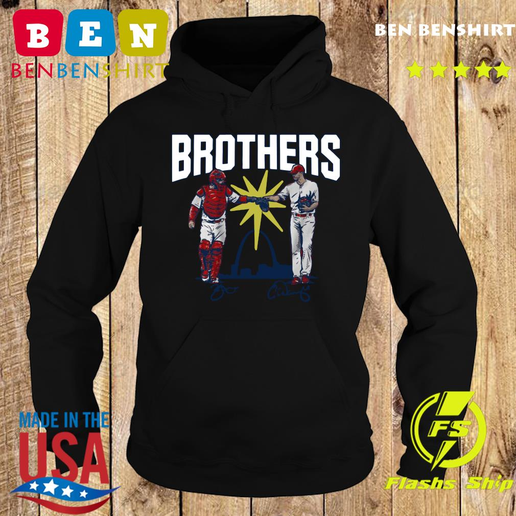 Wainwright and Molina Brothers Apparel St Louis Shirt Hoodie