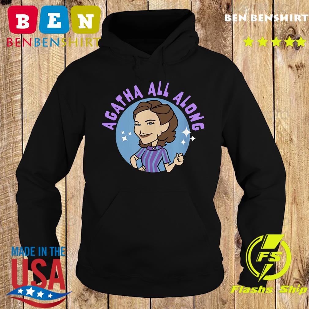 Wanda Vision Agatha All Along Retro Circle 2021 Shirt Hoodie