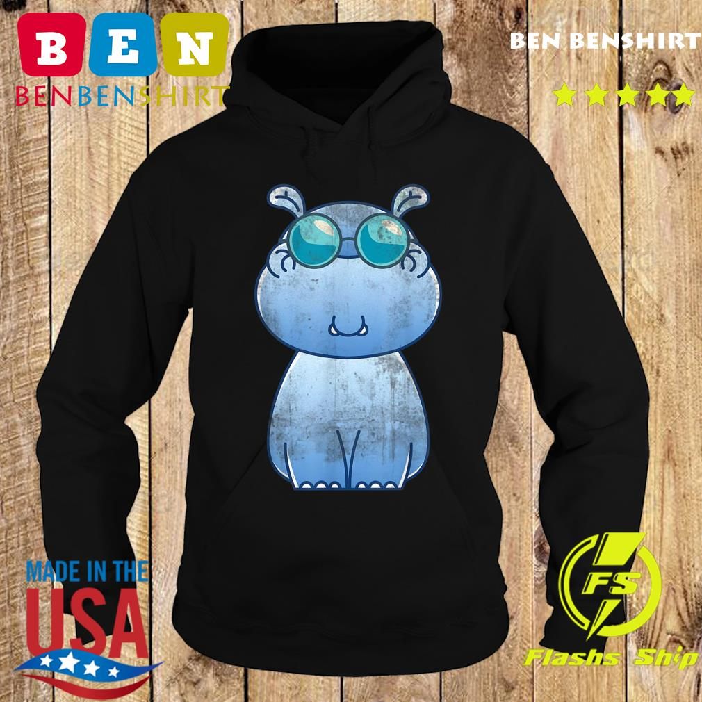 Wildlife Africa Cute Animal Lover Zoo Keeper Cool Hippo Us 2021Shirt Hoodie