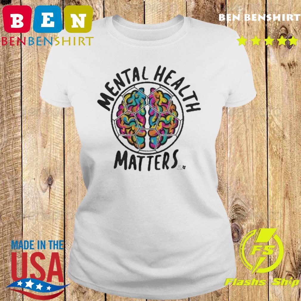 Mental Health Matters MLSPA Shirt Ladies tee
