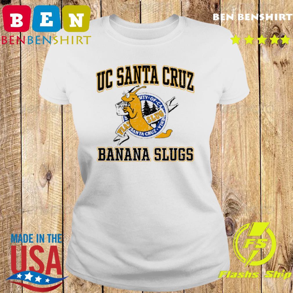 Uc Santa Cruz Banana Slugs Shirt Ladies tee