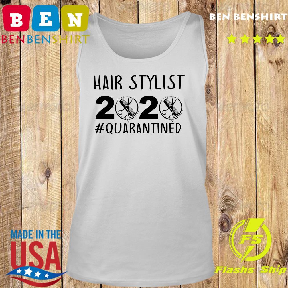 Official Hair stylist 2020 quarantine s Tank top
