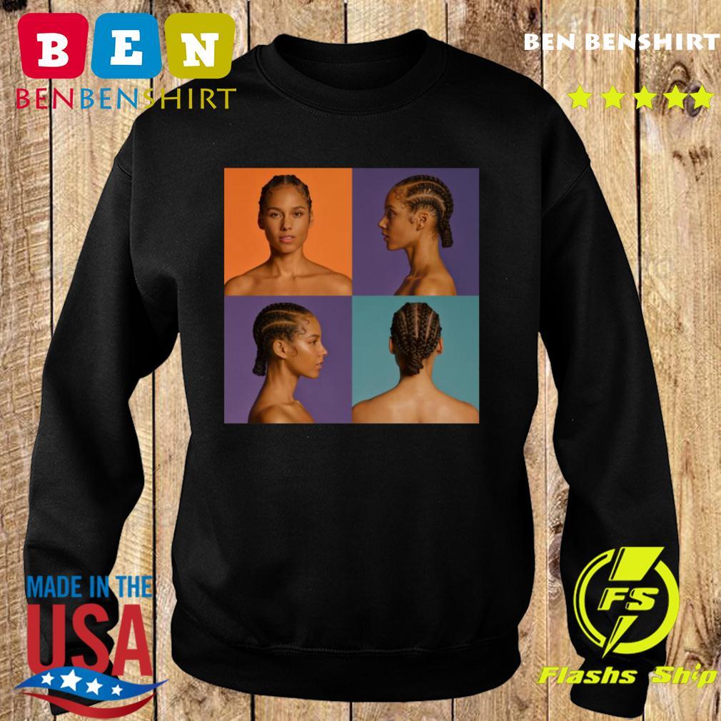 Alicia Keys Announce New Album Shirt Sweater