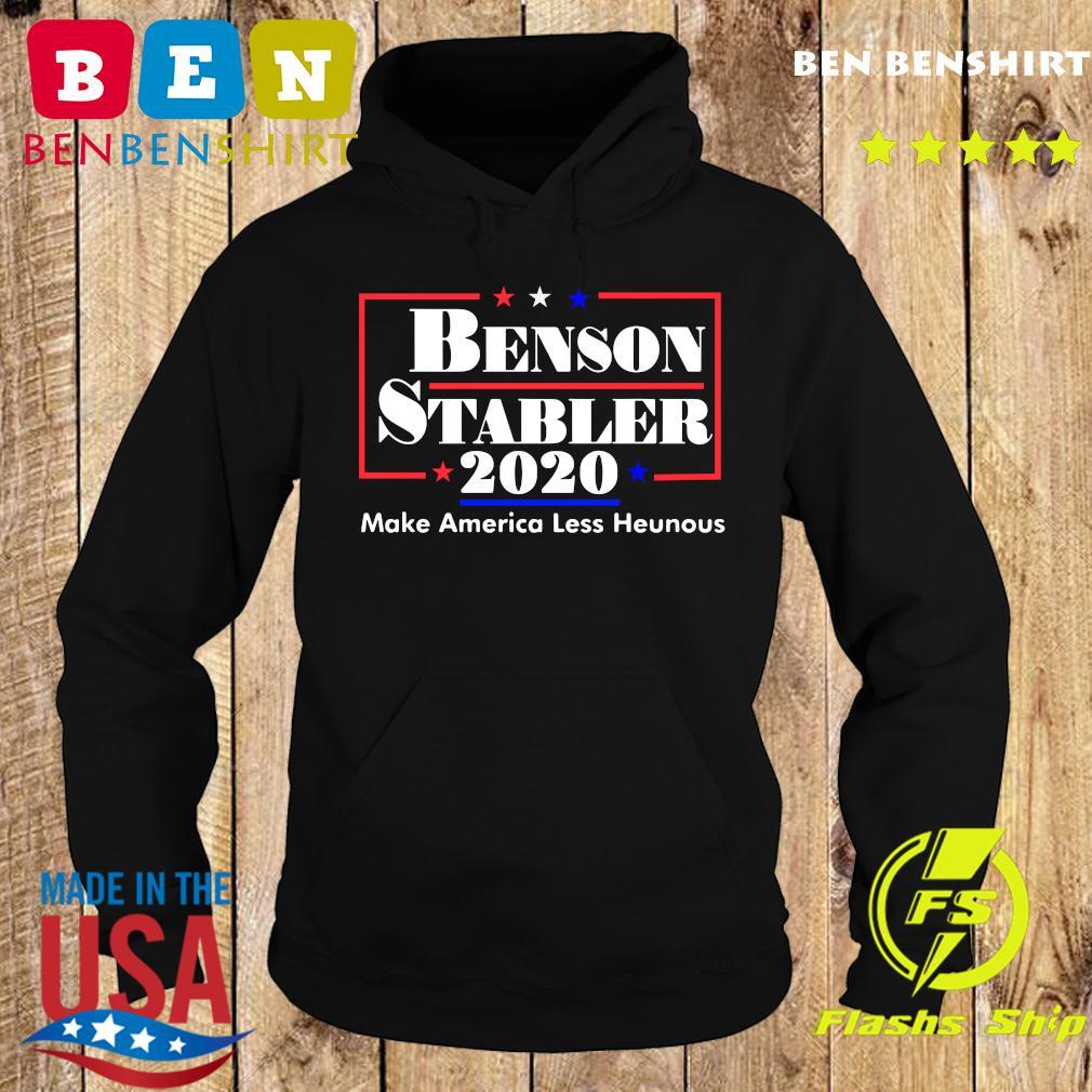 Benson Stabler 2020 Make America Less Heinous Shirt Hoodie