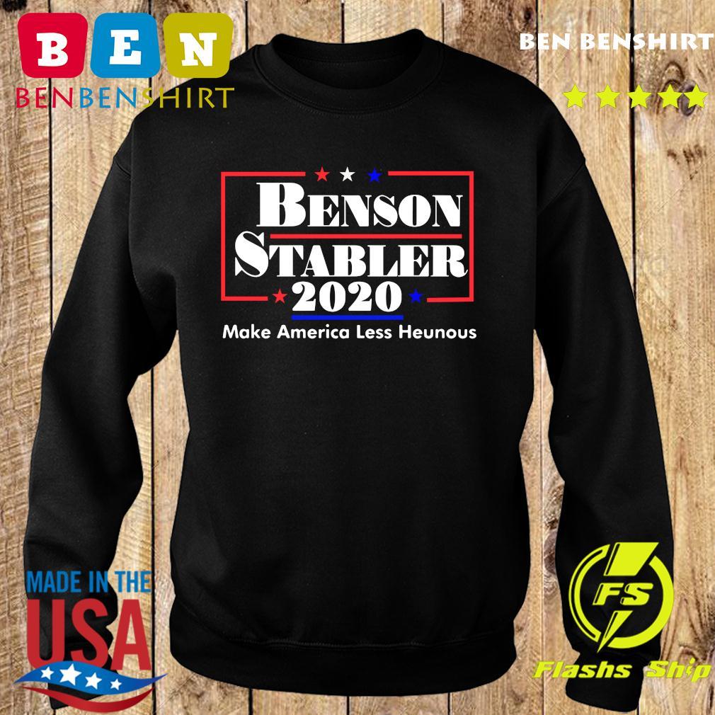 Benson Stabler 2020 Make America Less Heinous Shirt Sweater