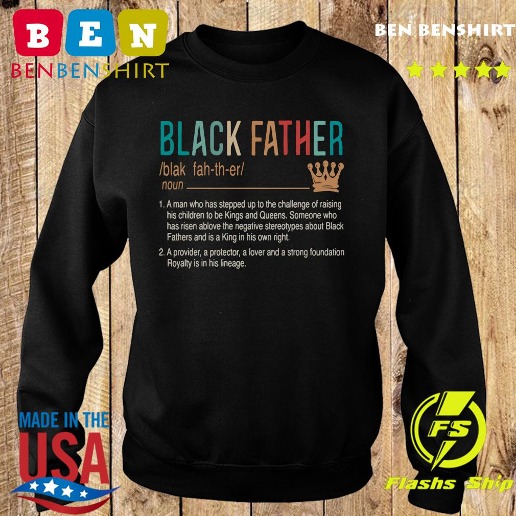 Official Black Father Shirt Sweater