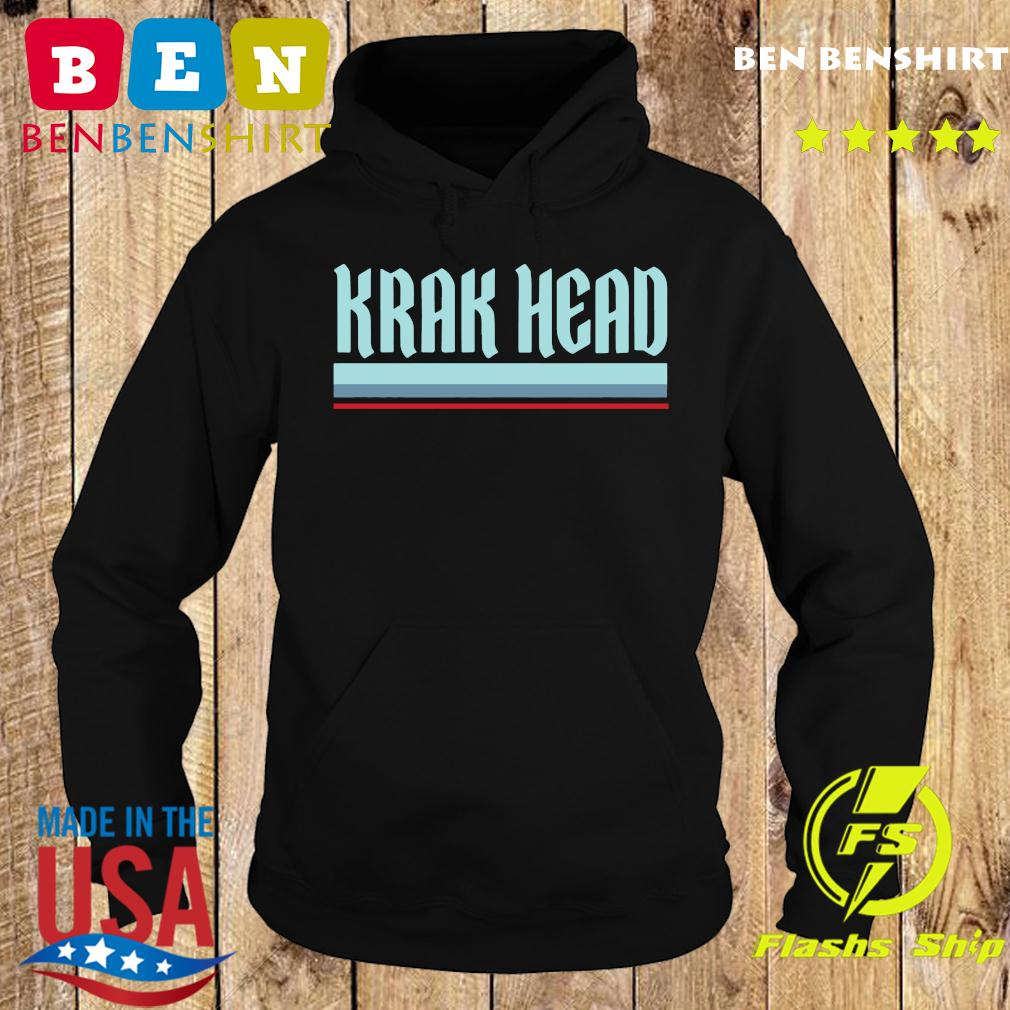 Krak Head Seattle Hockey T-Shirt Hoodie