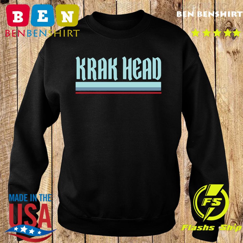 Krak Head Seattle Hockey T-Shirt Sweater
