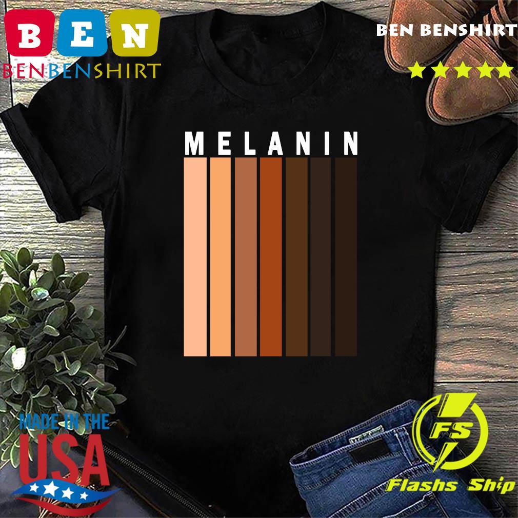 Melanin Shades Black Pride Gift T-Shirt