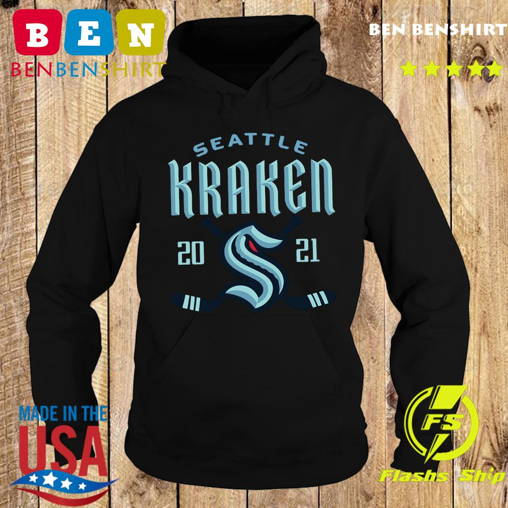 NHL Seattle Kraken 2021 Hockey Shirt Hoodie