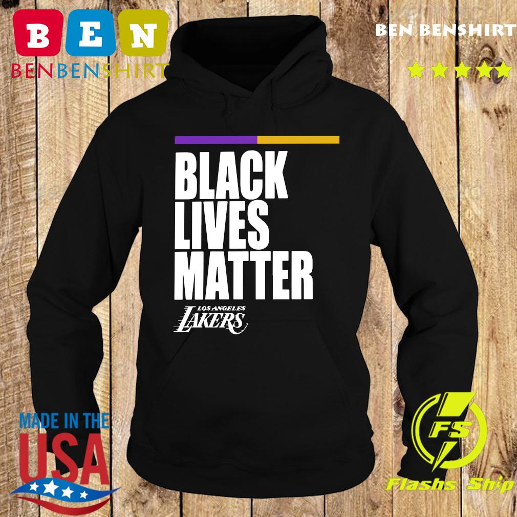 Official Black Lives Matter Los Angeles Street Lakers Shirt Hoodie