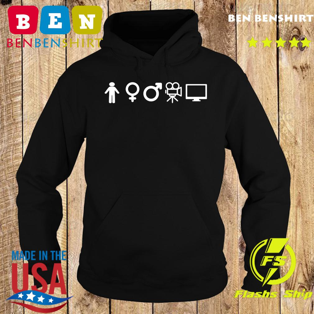 Person Woman Man Camera Tv Gift Shirt Hoodie