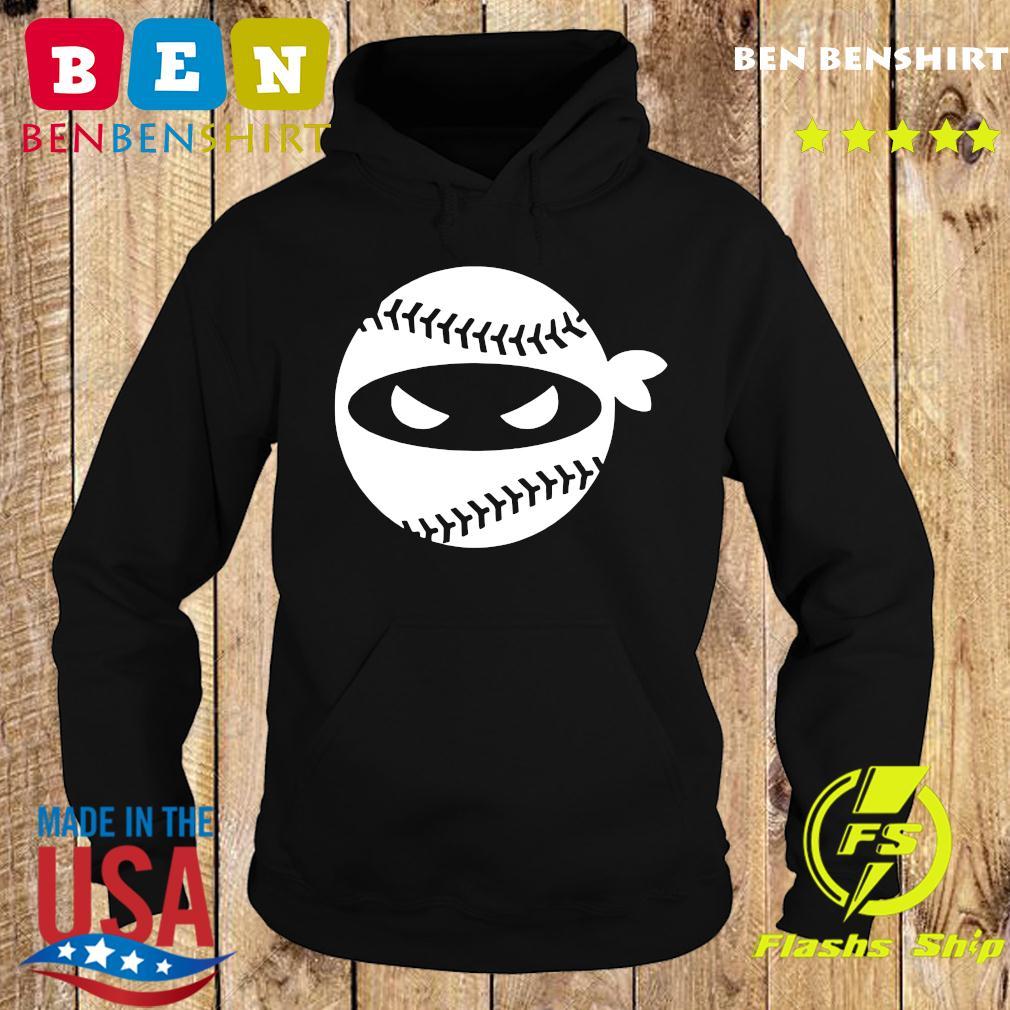 Pitching Ninja Onesie Baseball Shirt Hoodie