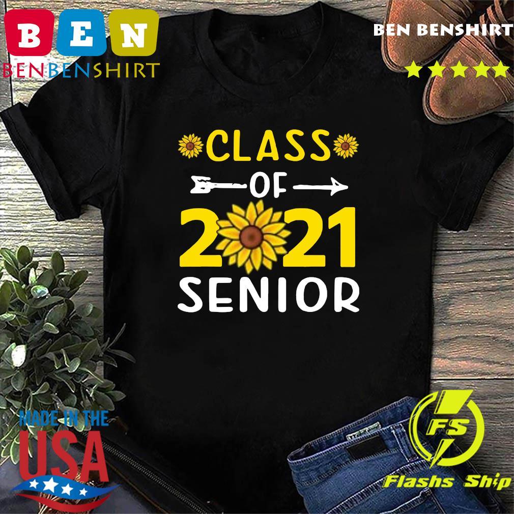 Sunflower Class Of 2021 Senior Shirt