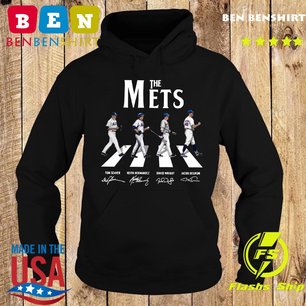 The Mets Walking The Abbey Road Signatures Shirt Hoodie