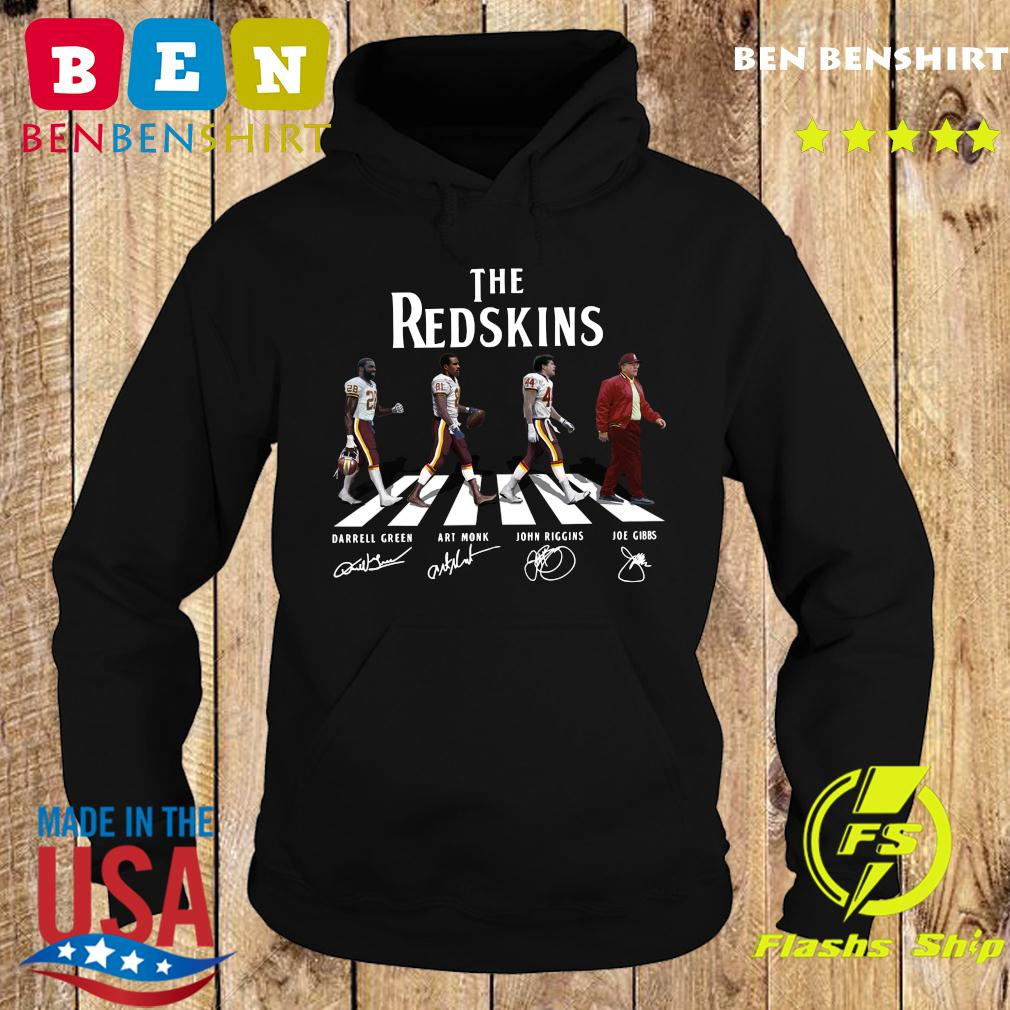 The Redskins Walking The Abbey Road Signatures Shirt Hoodie