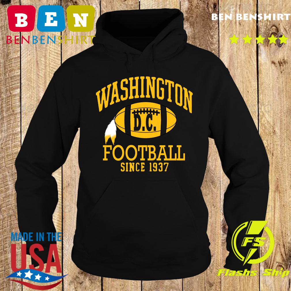 Vintage Washington Dc Football Since 1937 Shirt Hoodie