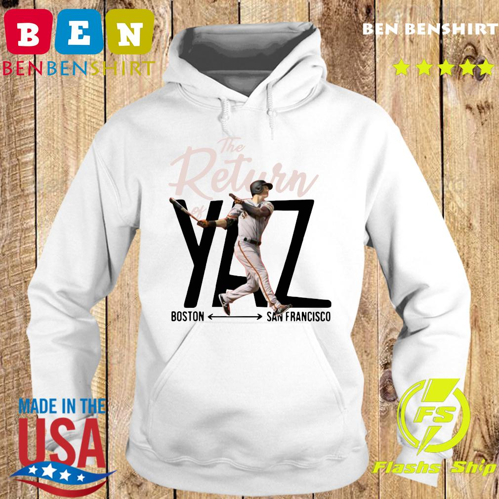 Mike Yastrzemski Yaz Boston San Francisco Shirt Hoodie