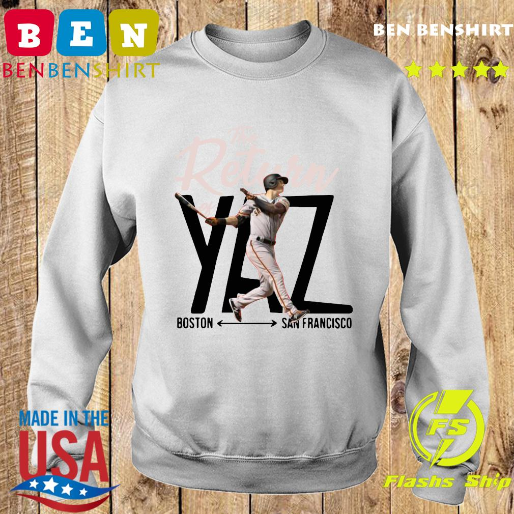 Mike Yastrzemski Yaz Boston San Francisco Shirt Sweater
