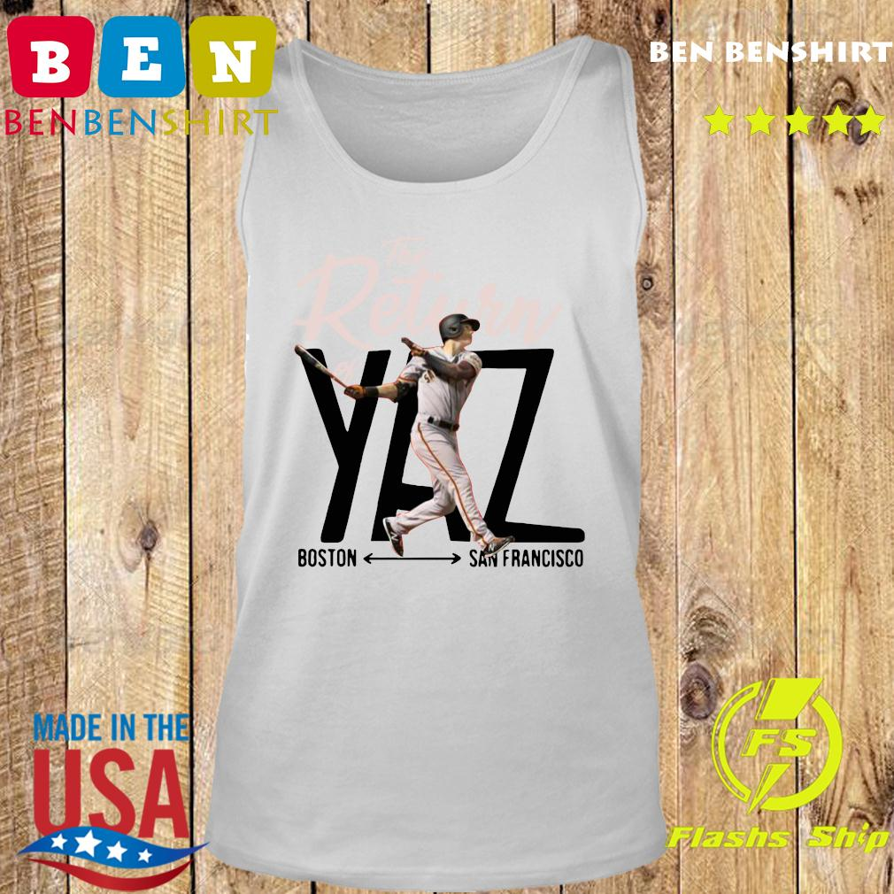 Mike Yastrzemski Yaz Boston San Francisco Shirt Tank top