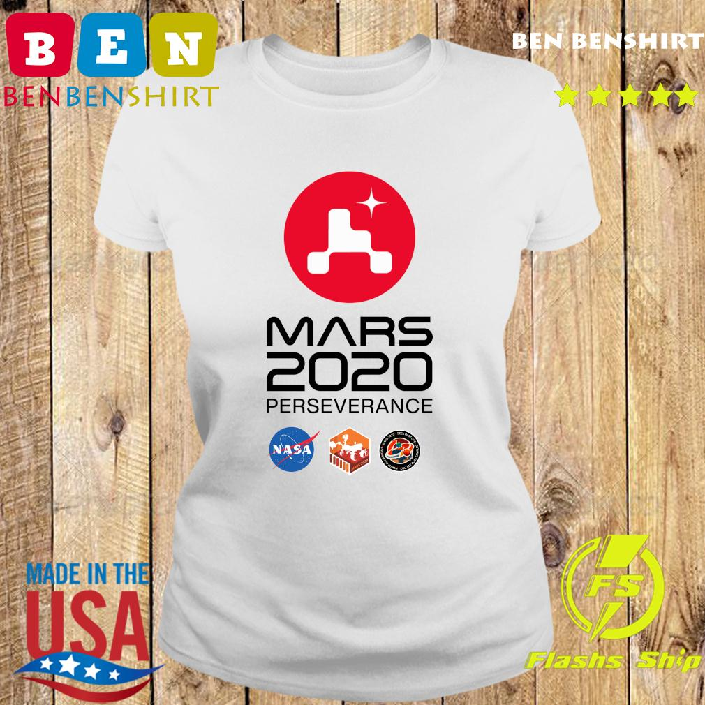 NASA Mars Rover Perseverance T-Shirt Ladies tee