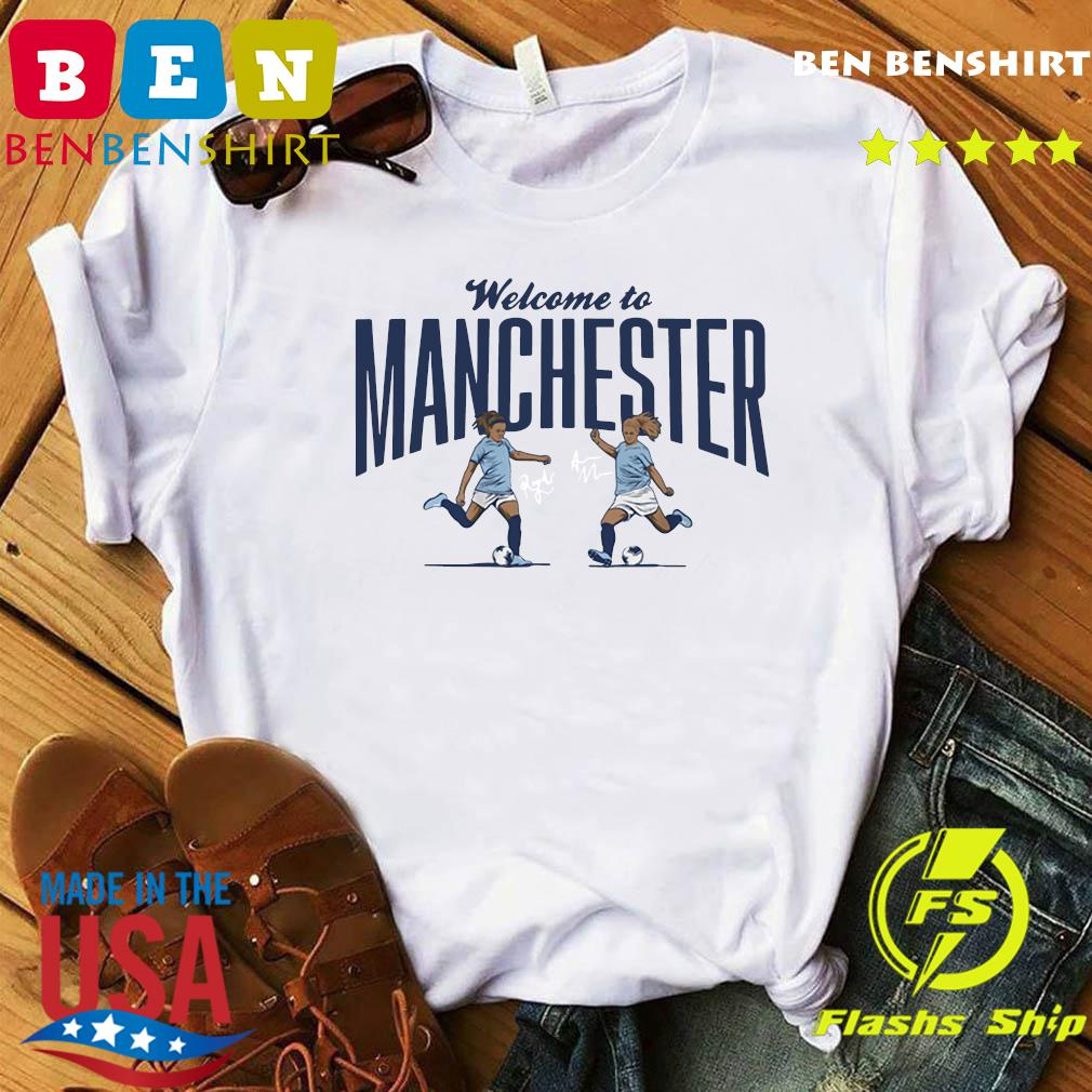 Lavelle Mewis Welcome to Manchester Official T-Shirt