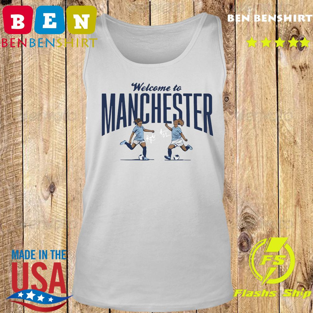 Lavelle Mewis Welcome to Manchester Official T-Shirt Tank top