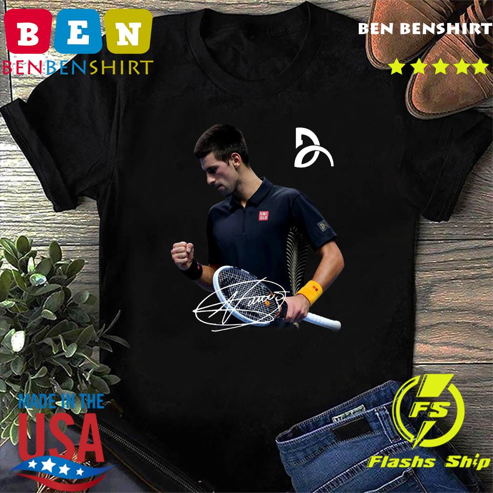Novak Djokovic Signature Shirt Hoodie Sweater Long Sleeve And Tank Top