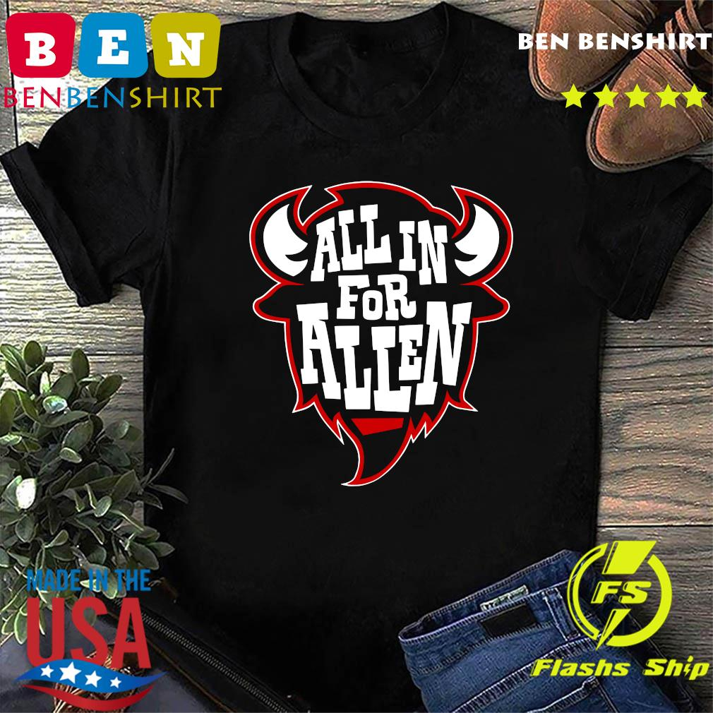 Official All In For Allen Shirt