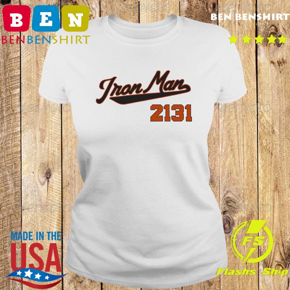 Official Iron Man 2131 Shirt Ladies tee