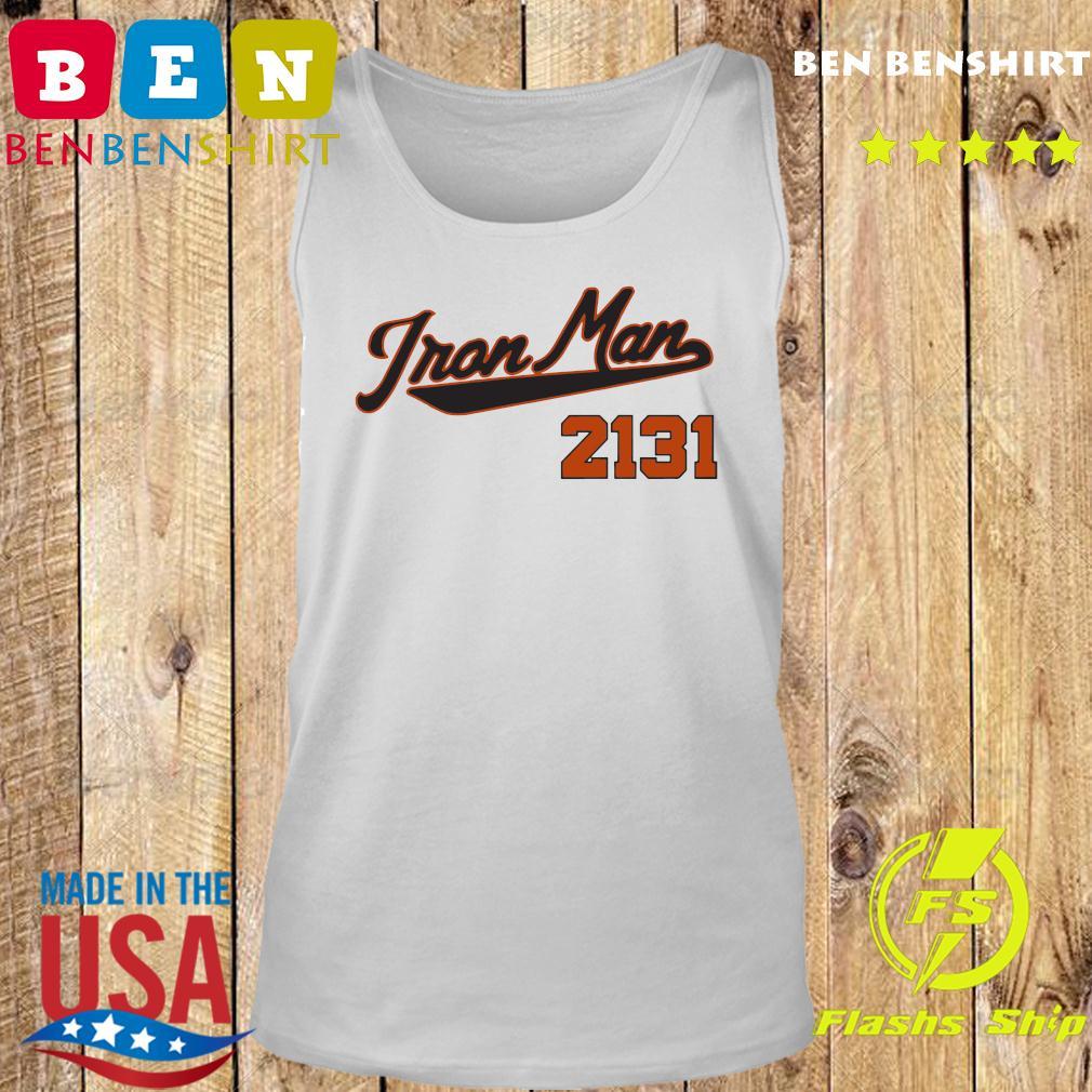 Official Iron Man 2131 Shirt Tank top