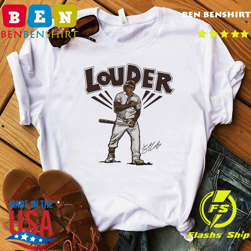 Official Slam Diego Louder Hoodies Shirt