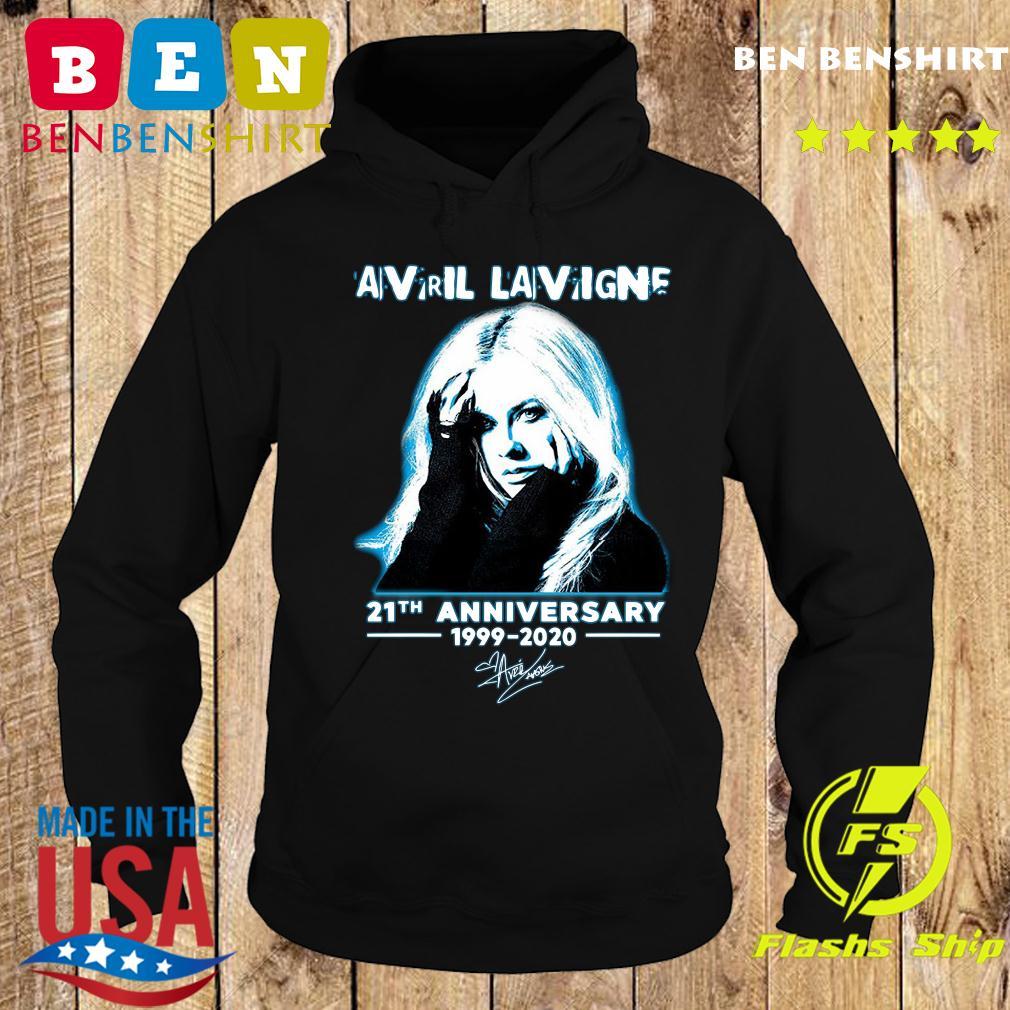 Avril Lavigne 21th Anniversary 1999 2020 Signature Shirt Hoodie