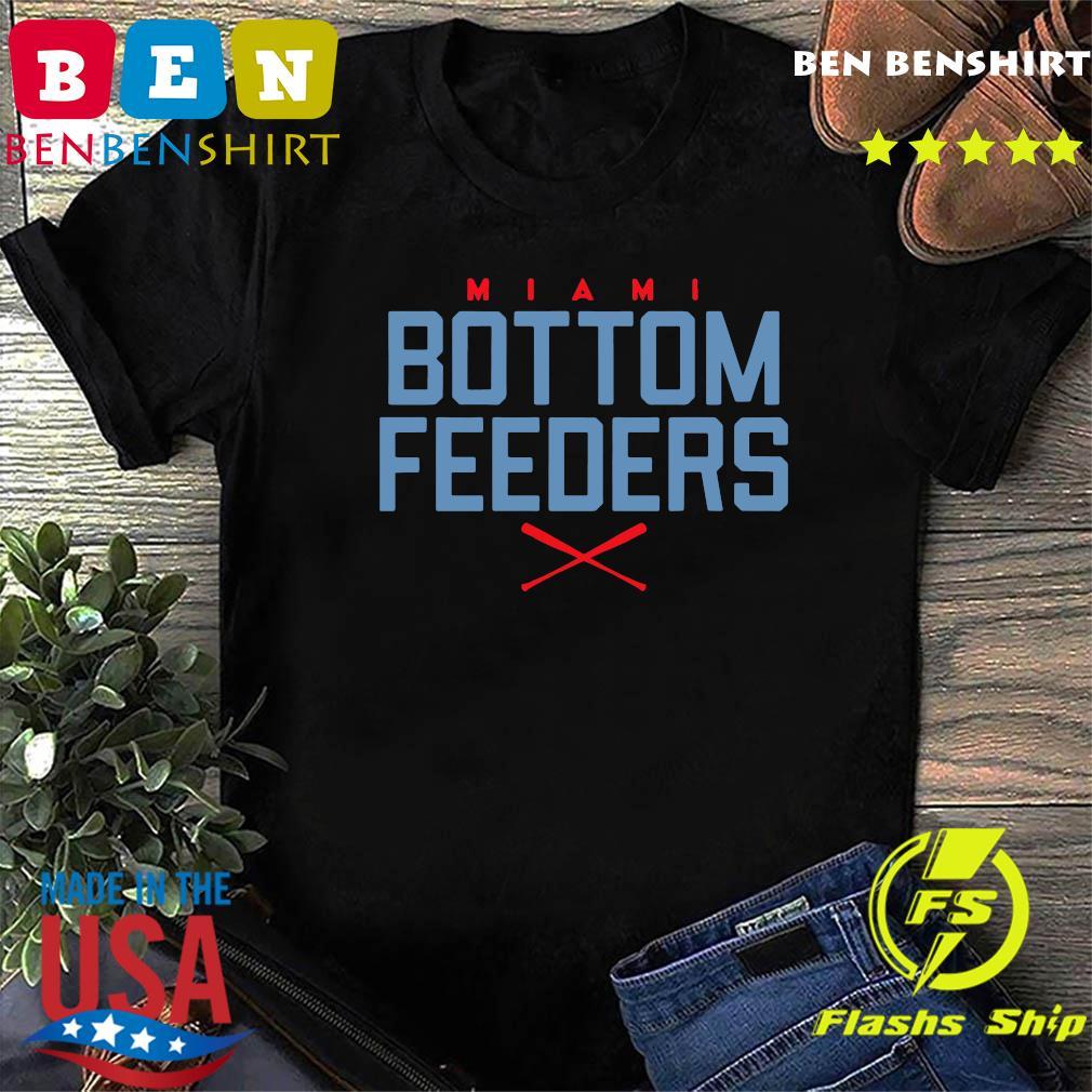 Bottom Feeders Miami Baseball T-Shirt