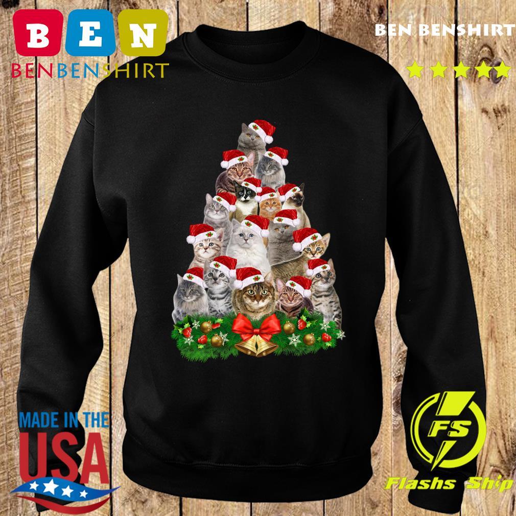 Cats Tree Merry Christmas Sweatshirt