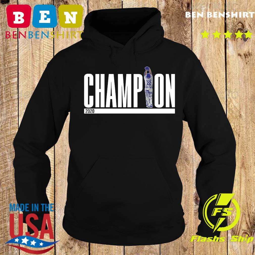 Champions Los Angeles Dodgers 2020 Shirt Hoodie