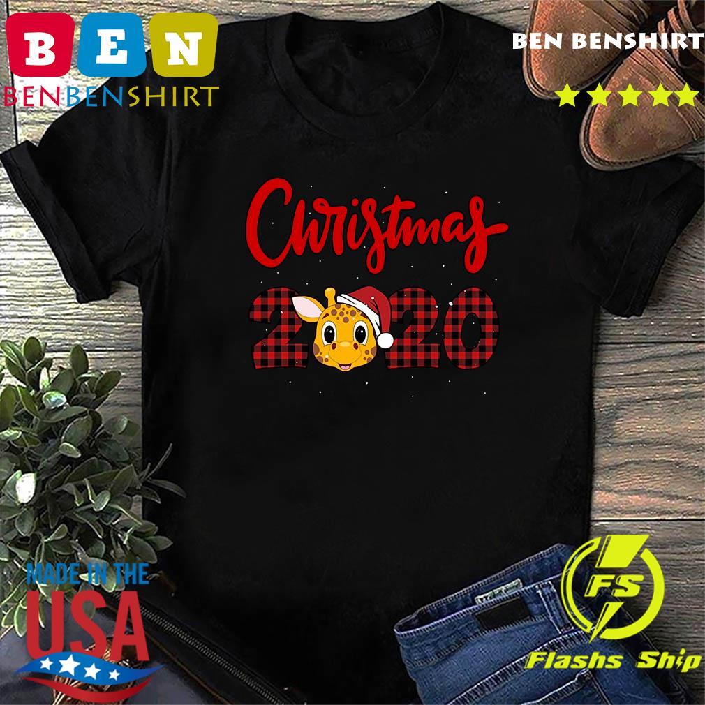 Christmas giraffe 2020 Sweatshirt
