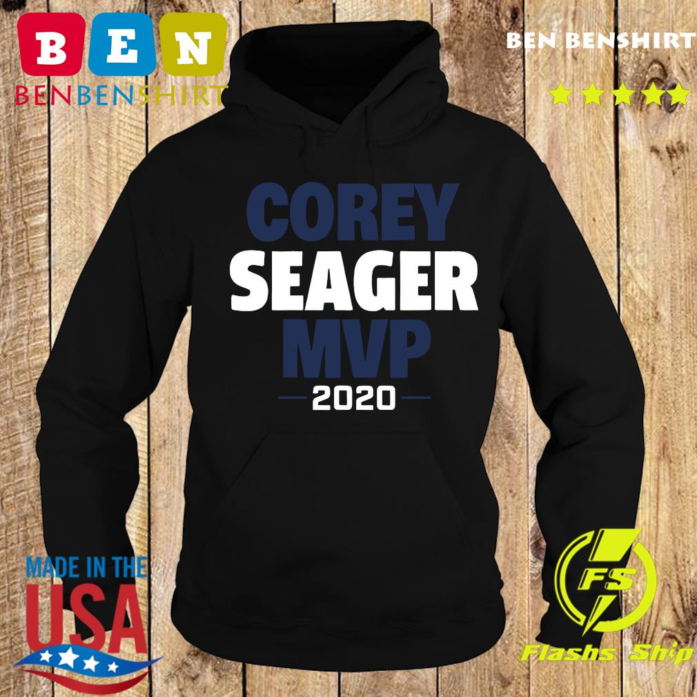 Corey Seager Mvp 2020 Shirt Hoodie