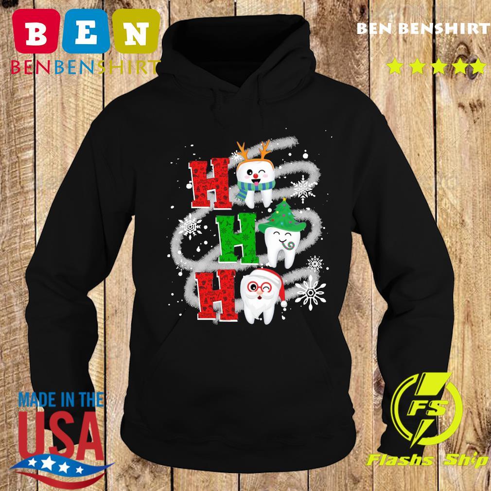 Dental Ho Ho Ho Christmas Gift Sweats Hoodie