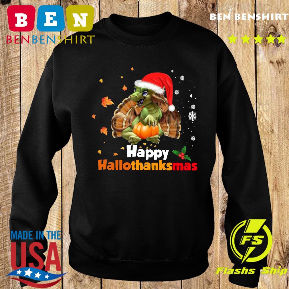 Dragon Happy Hallothanksmas Sweatshirt
