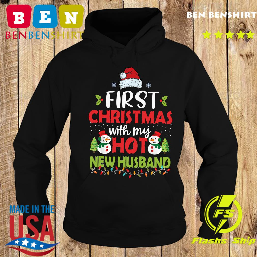 First Christmas With My Hot New Husband Sweats Hoodie