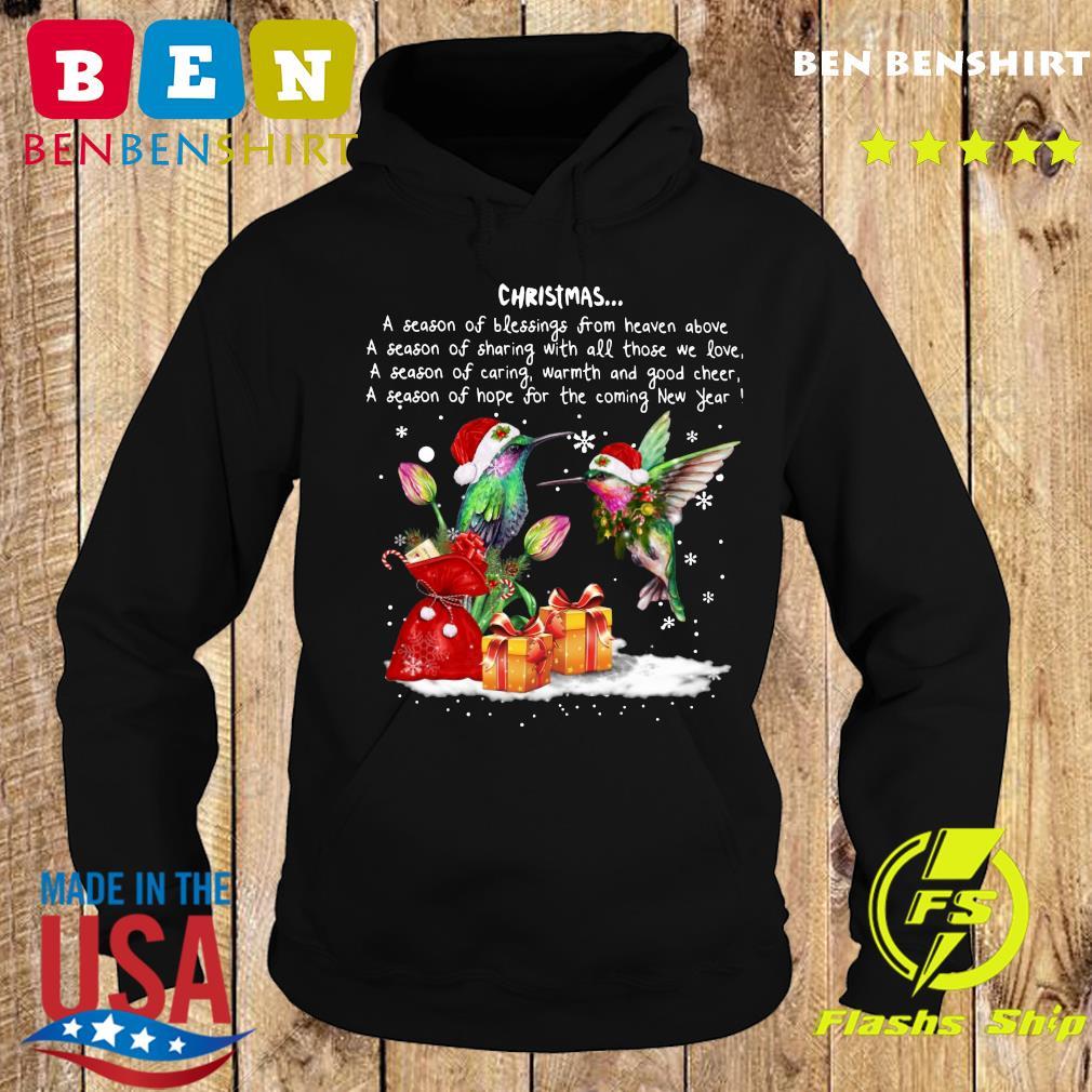 Hummingbird Christmas A Season Of Crewneck Sweats Hoodie