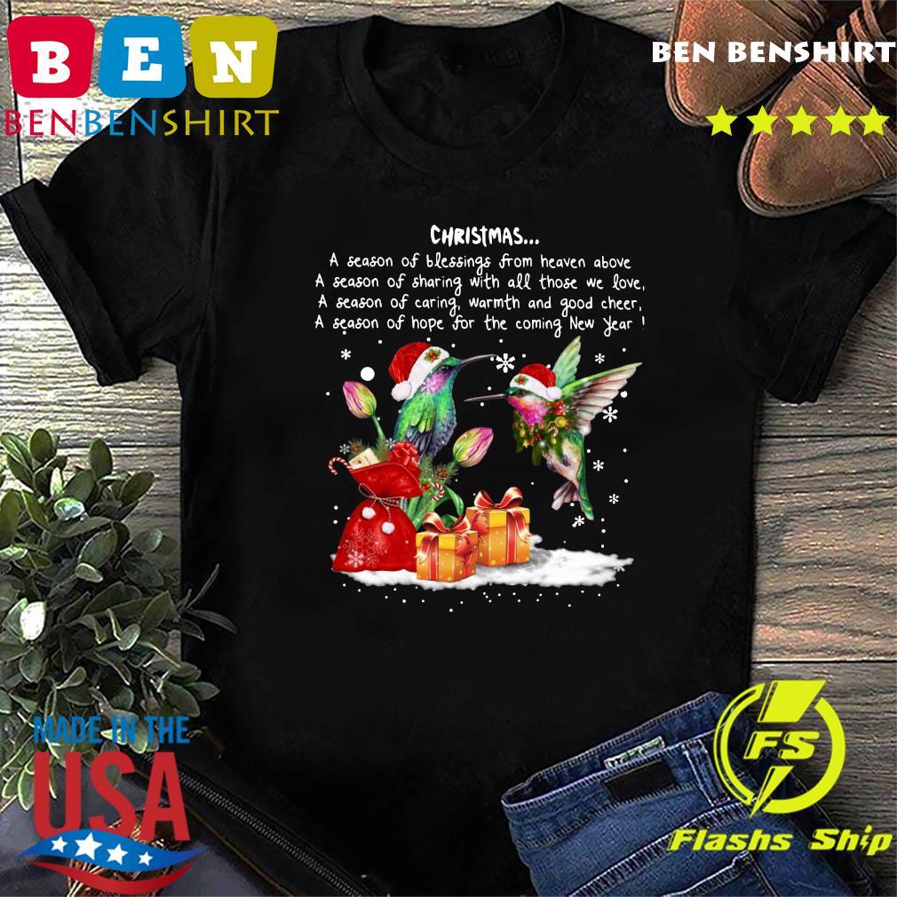 Hummingbird Christmas A Season Of Crewneck Sweatshirt